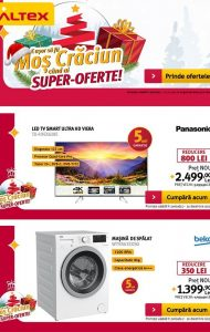 Catalog ALTEX – 07 Decembrie 2017 – 20 Decembrie 2017