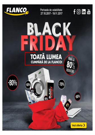 Catalog FLANCO Black Friday – 27 Octombrie 2017 – 19 Noiembrie 2017